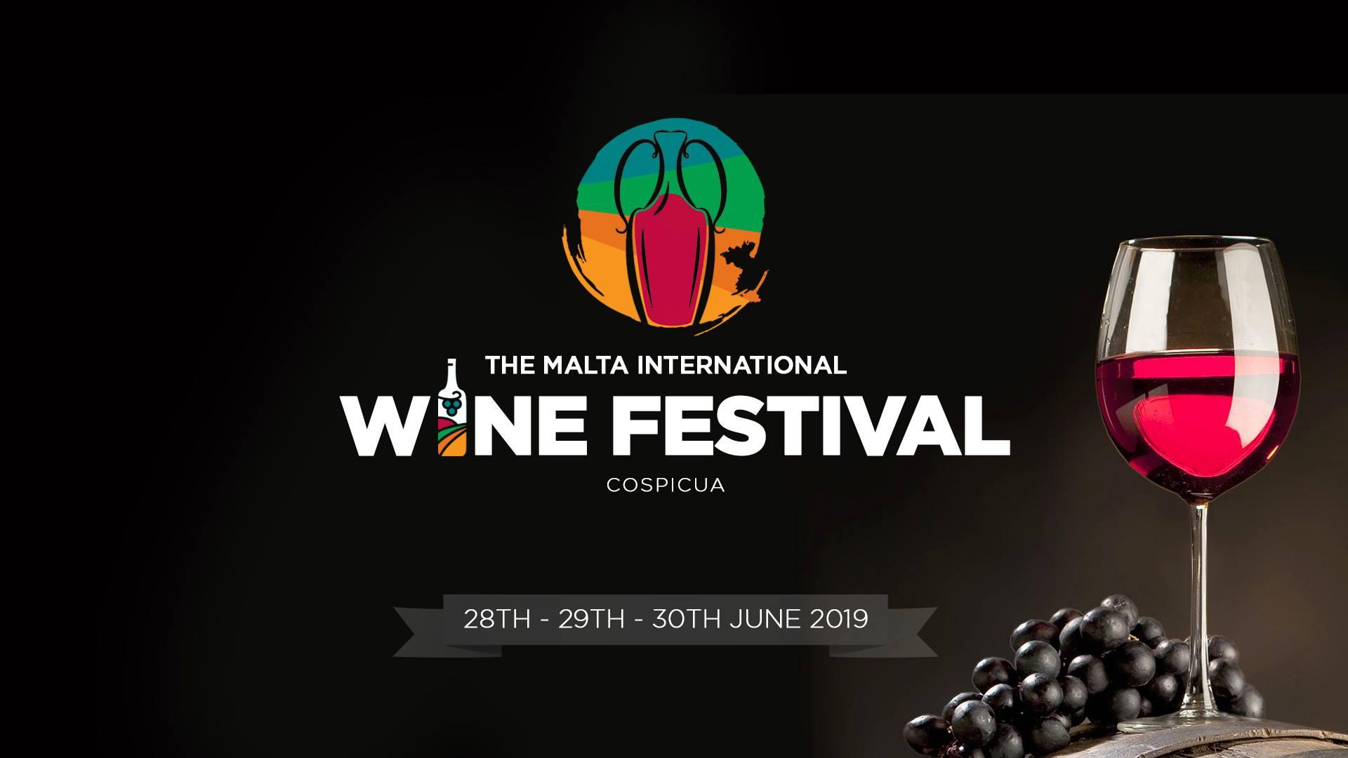 Malta International Wine Festival - locandina dell'evento
