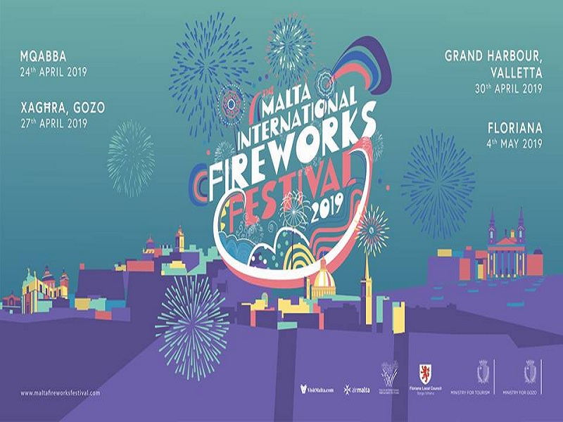 Malta international fireworks festival dal 24 al 4