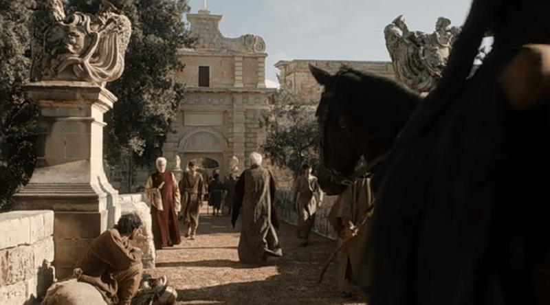 Il Trono di spade - l'ingresso di Approdo del Re