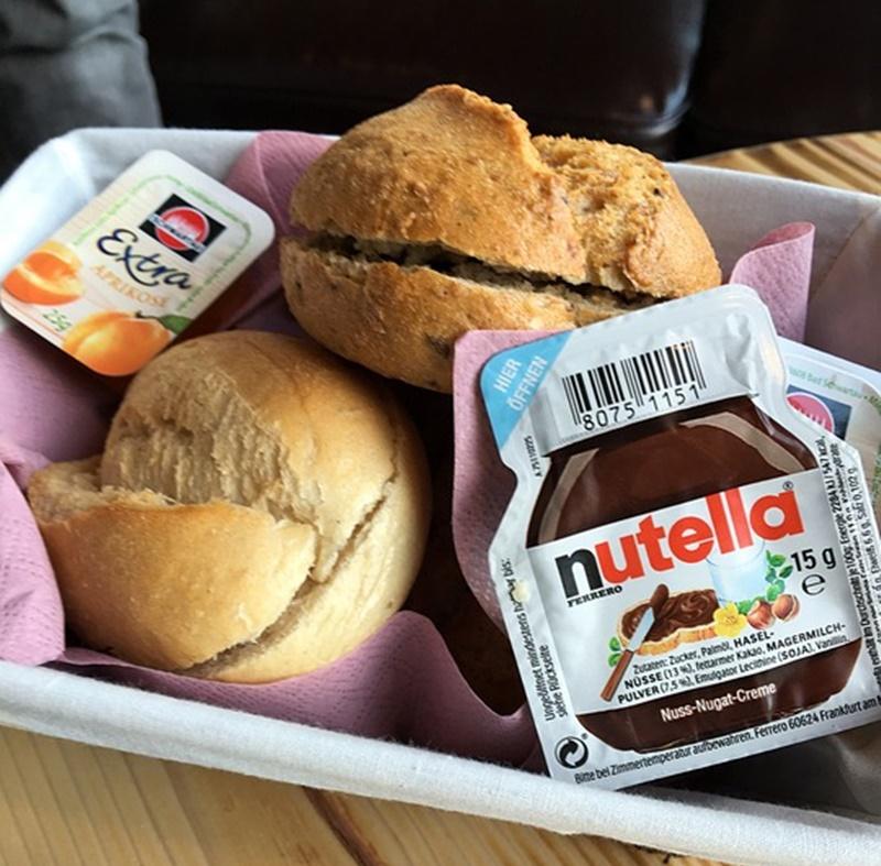 nutella Festival - panini da riempire con la nutella