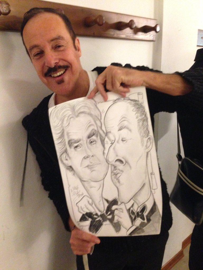 Massimo Lopez - vignetta