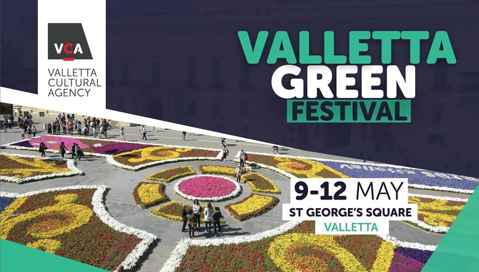 Locandina del Valletta Green Festival 2019
