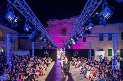 Malta fashion week. Una sfilata