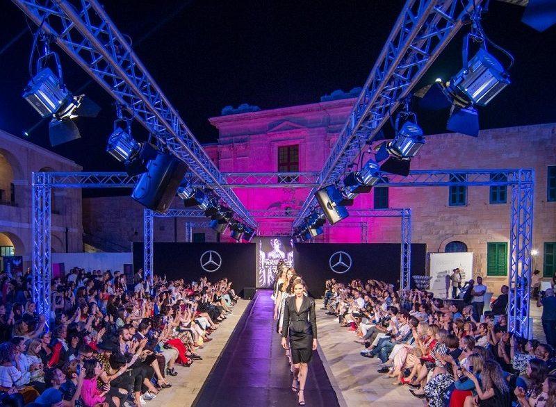 Malta fashion week. Una sfilata
