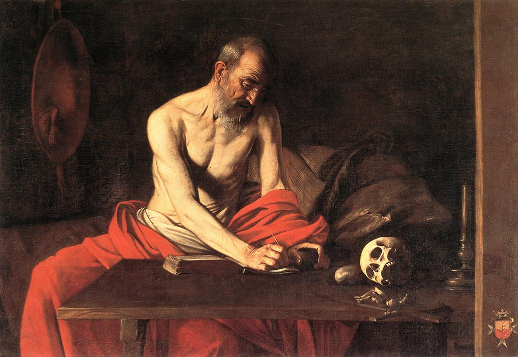 restauro - il San Girolamo di Caravaggio