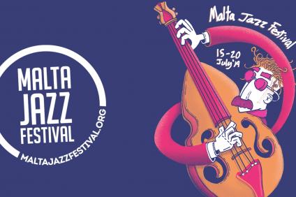 Locandina del Malta Jazz Festival 2019