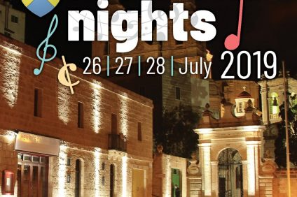 Mellieha night 2019 - locandina dell'evento
