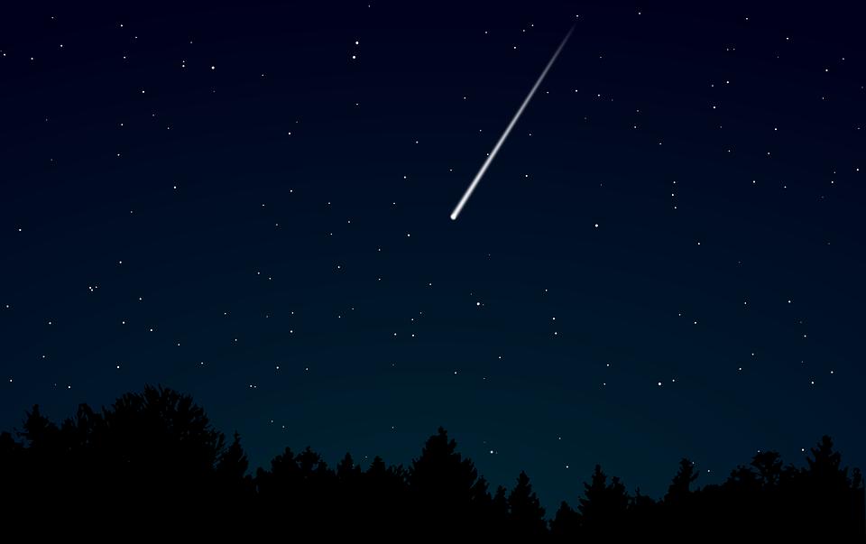La notte di San Lorenzo - una stella cadente