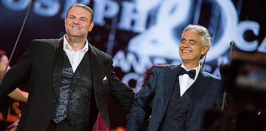Joseph Calleja e Andrea Bocelli