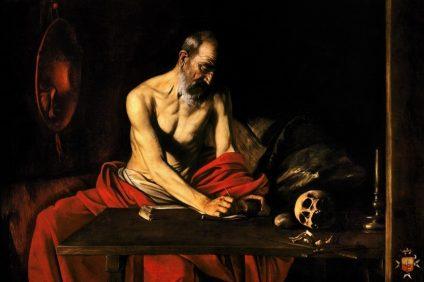 Il dipinto di San Girolamo