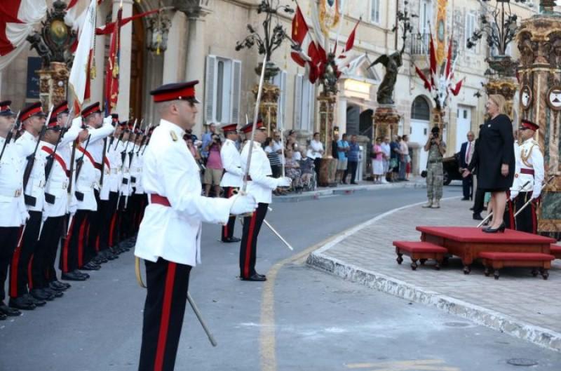 8 settembre Victory day: Parata