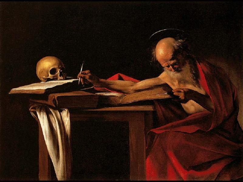 San Girolamo scrivente, dipinto