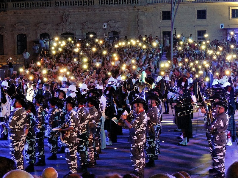 Parata militare - The Malta Military Tattoo