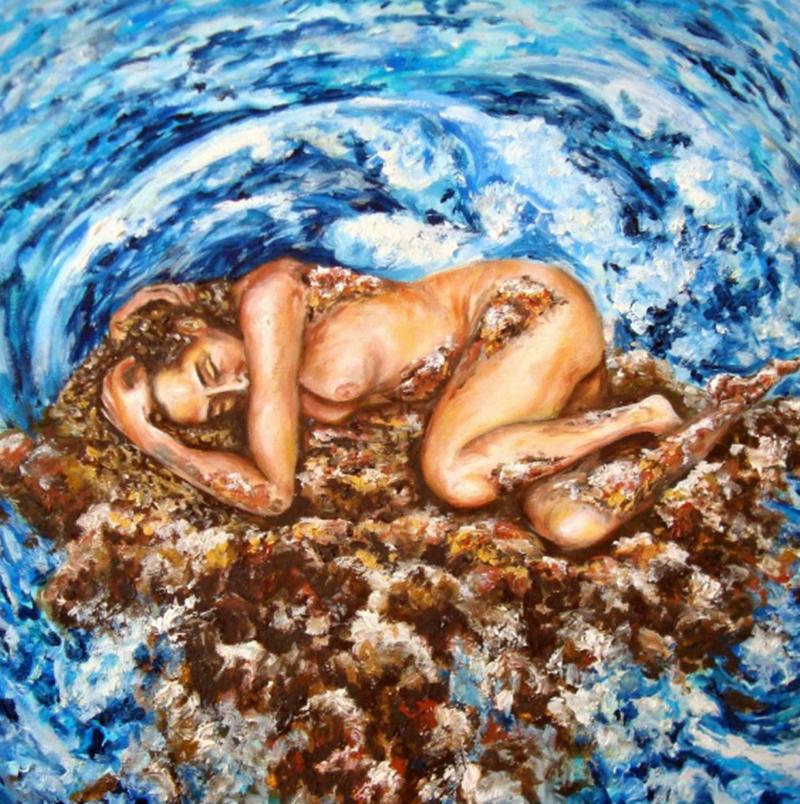 Esposizione Internazionale di Arte - un dipinto della mostra