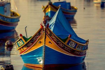 i luzzi: imbarcazioni tipiche maltesi