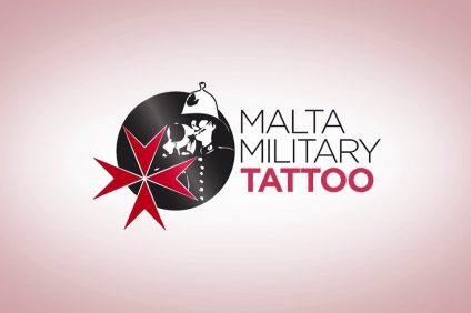 The malta military tattoo logo