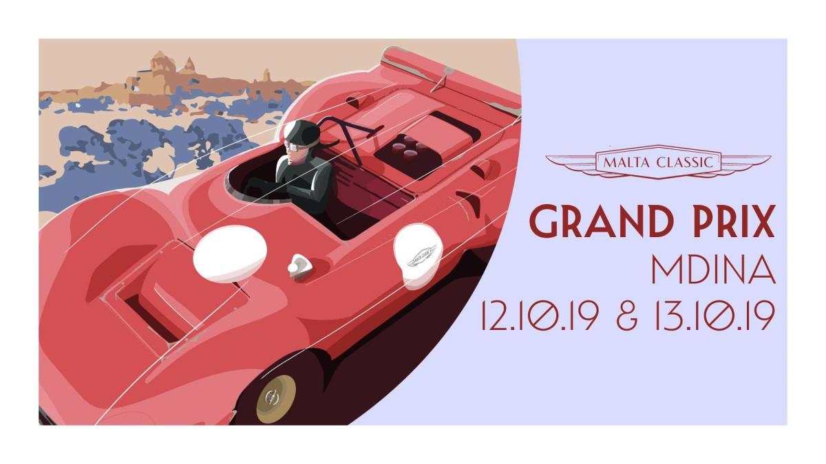 mdina grand prix: locadina evento