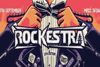 Rockestra: locandina evento