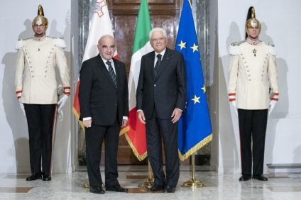 il presidente a roma