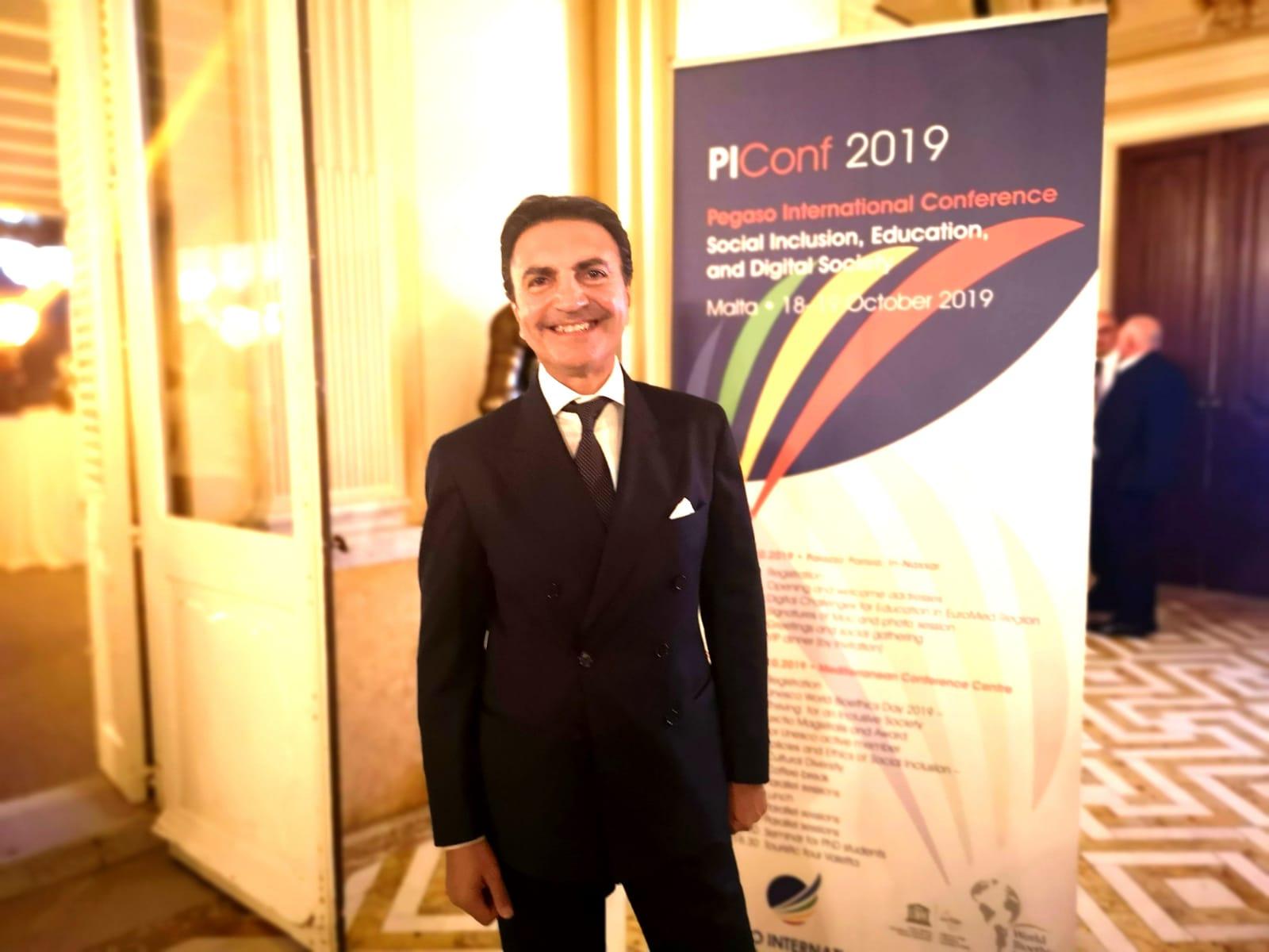 Elio Pariota Direttore generale Pegaso