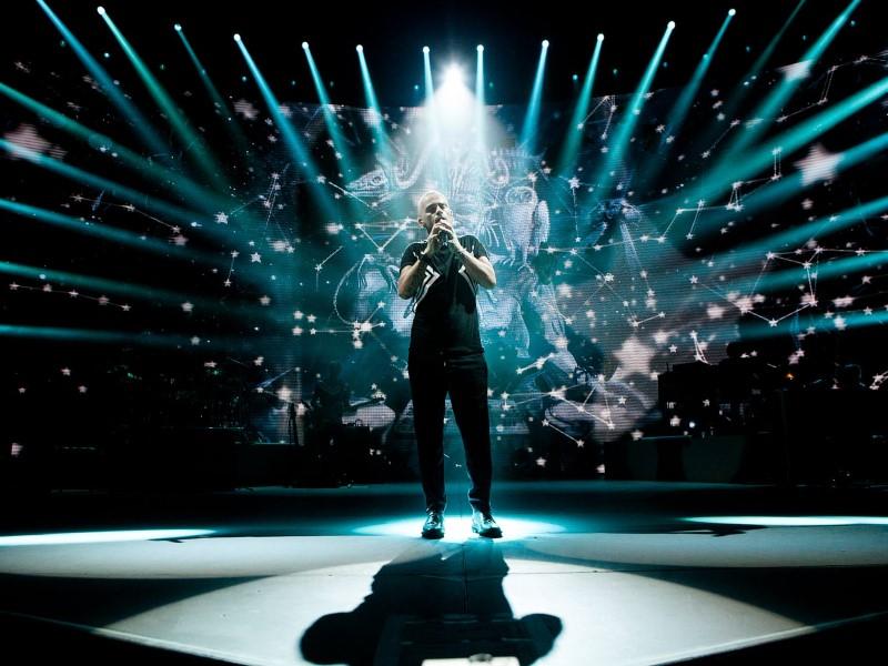 Eros Ramazzotti: sul palco