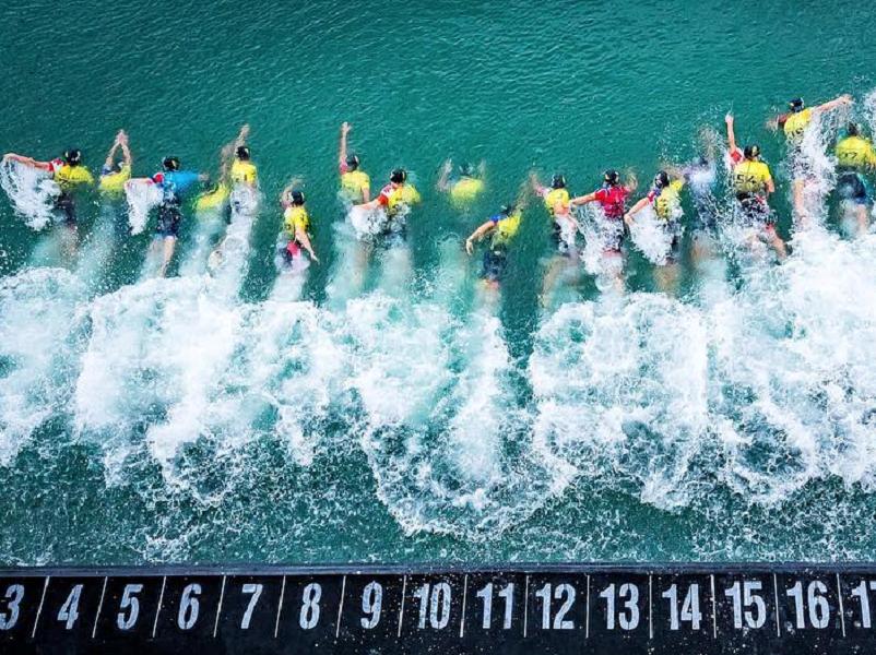 Una delle discipline del triathlon è il nuoto - Credit: triathlonmagazine.ca