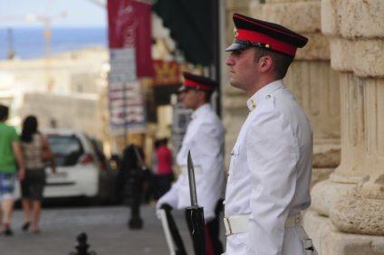 Cambio della Guardia a Malta