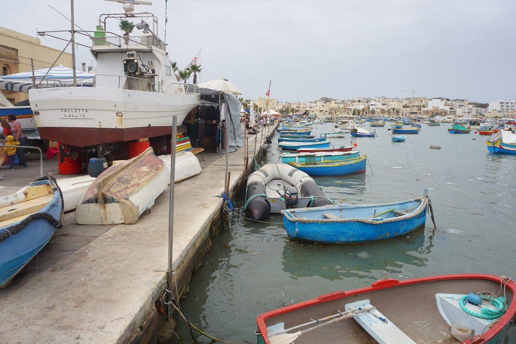 Tas Silg - porticciolo di Marsaxlokk
