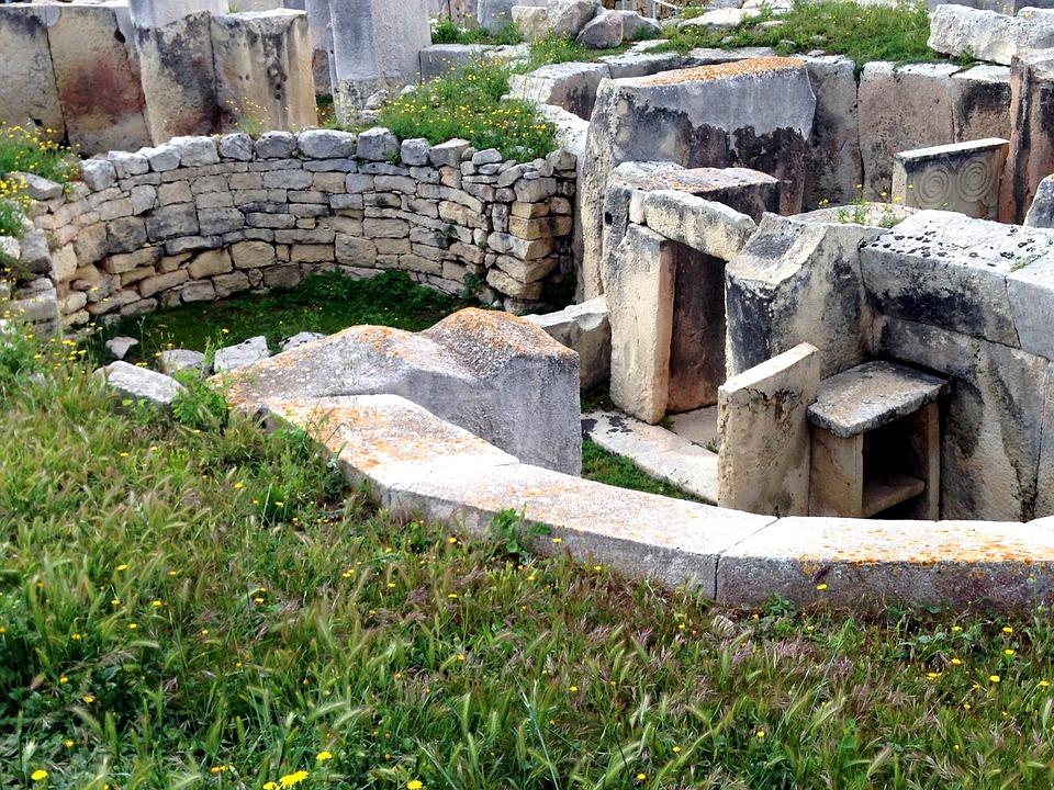 templi di tarxien - particolare