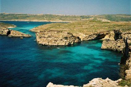 5 cose che gli italiani adorano di malta: la laguna blu