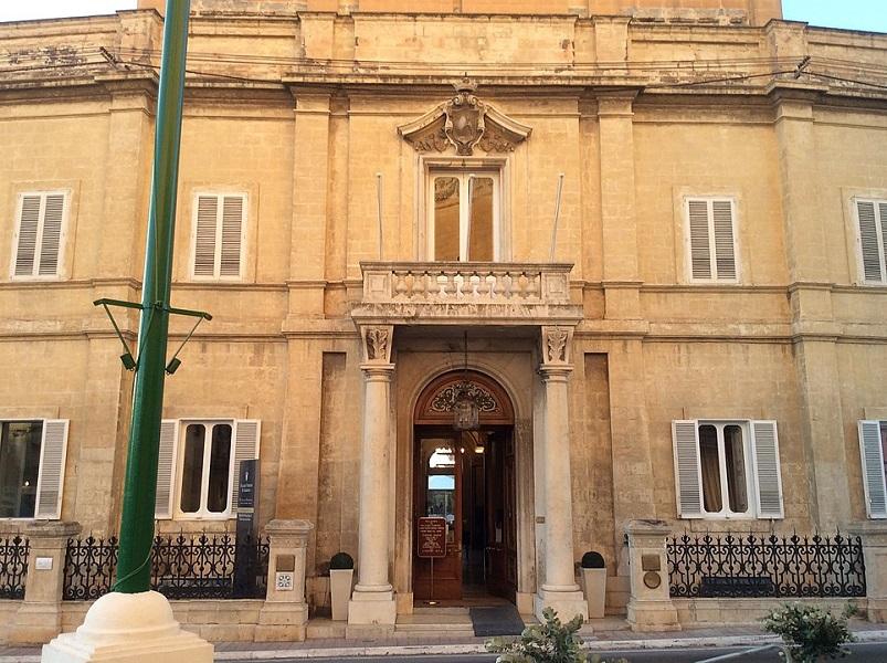 Palazzo Parisio a Malta