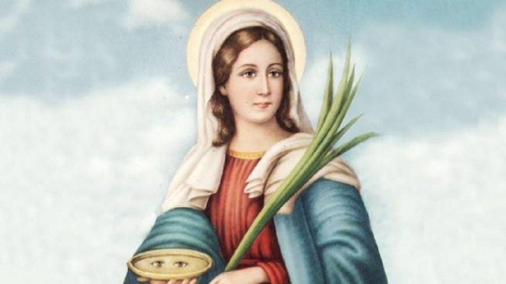 Iconografia Santa Lucia
