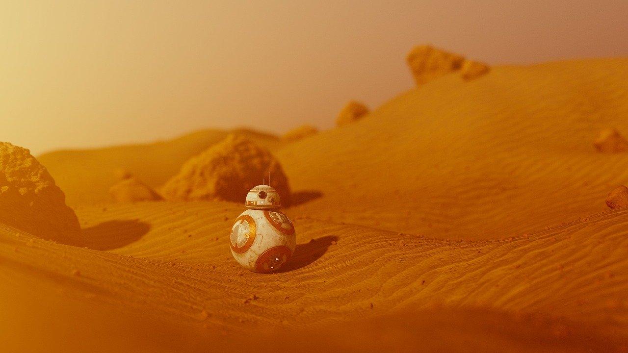 Star Wars, deserto