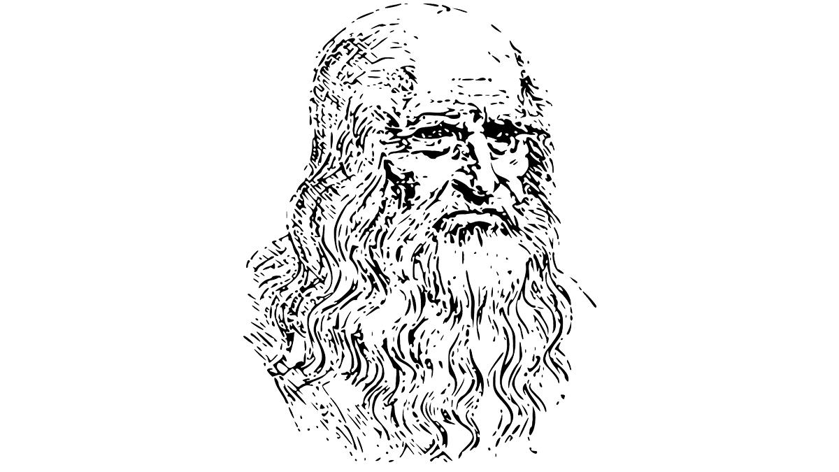un'immagine stilizzata di leonardo