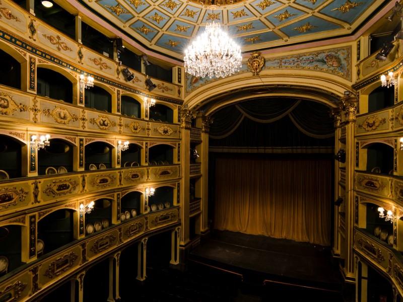 L'interno del teatro manoel