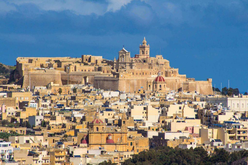 operatori sanitari - panorama di Gozo