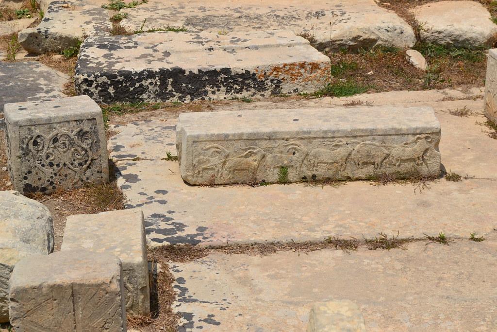 tomba punica scoperta a Tarxien, sito archeologico