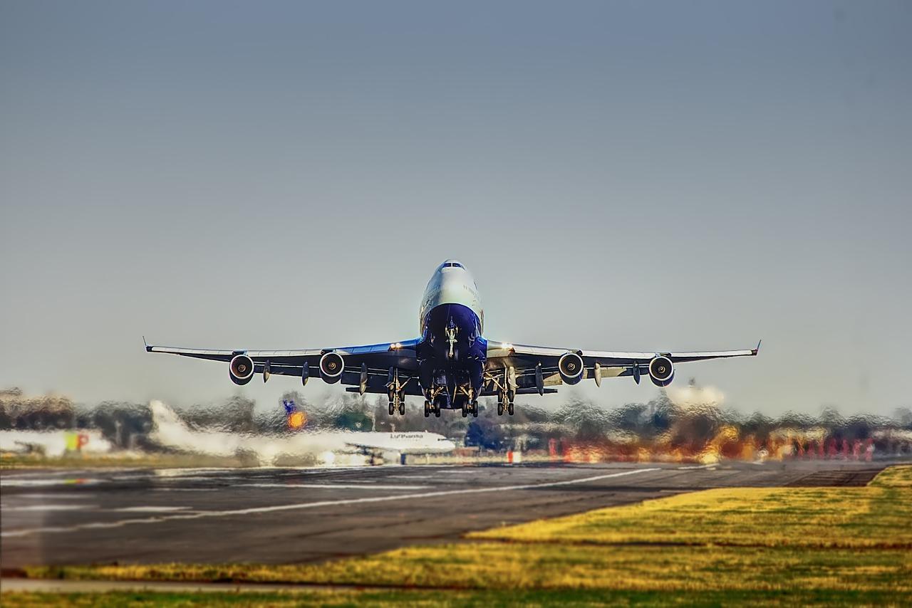 Aeroporto: pista di decollo