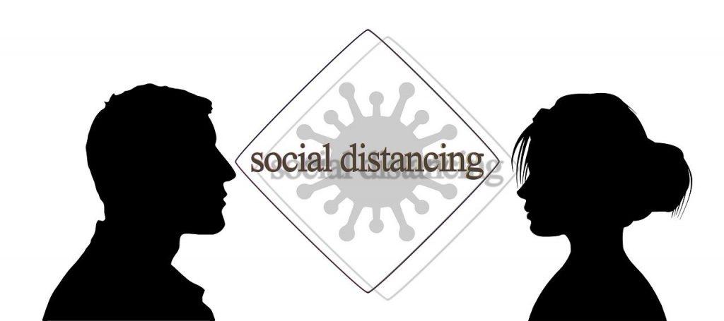 Distanza sociale da Covid19