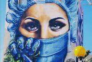 murale Pandemic heroes