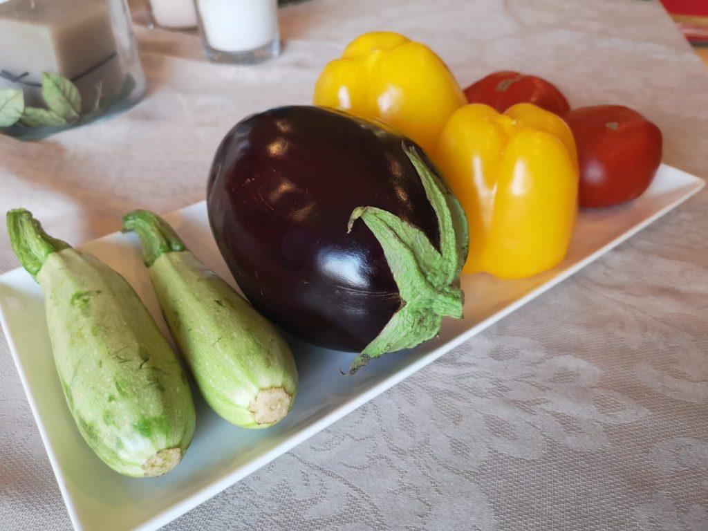 Kapunata - piattino con verdure di stagione