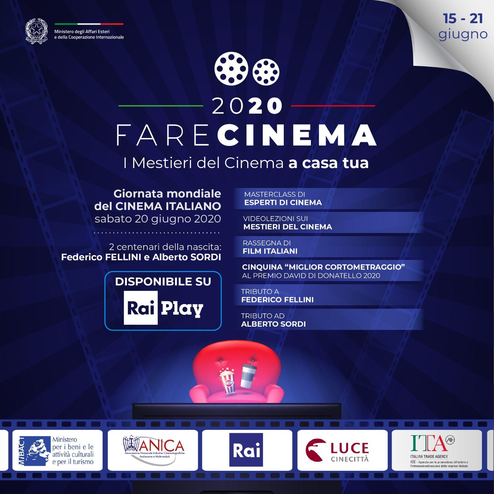 Fare Cinema Locandina