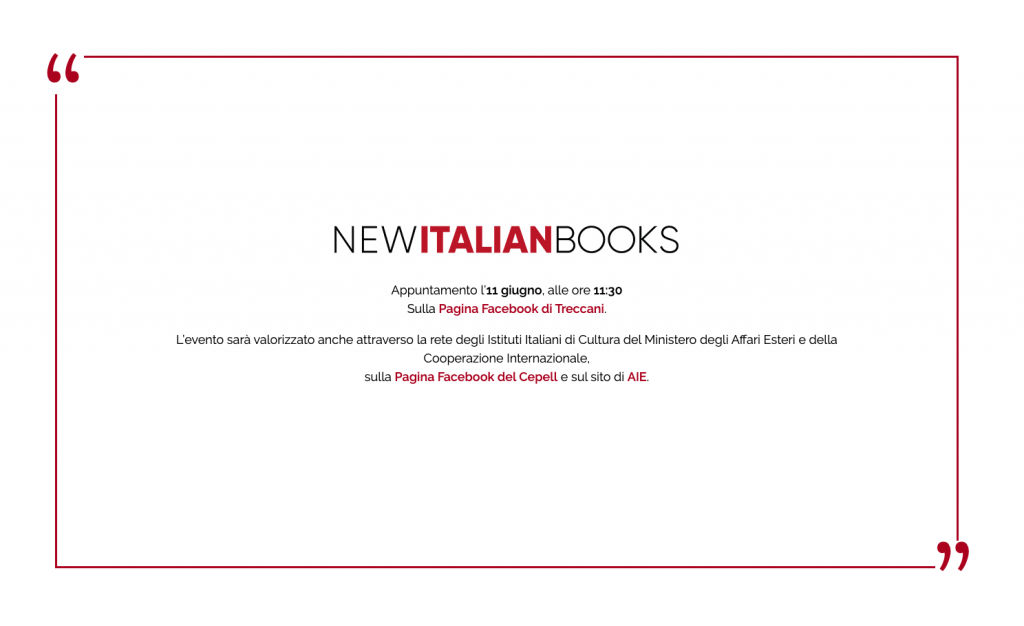 locandina facebook di new italian book