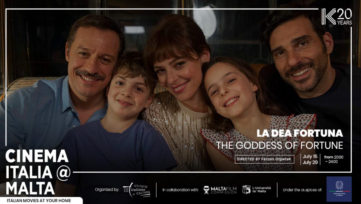 Cinema Italia Malta LA dea fortuna