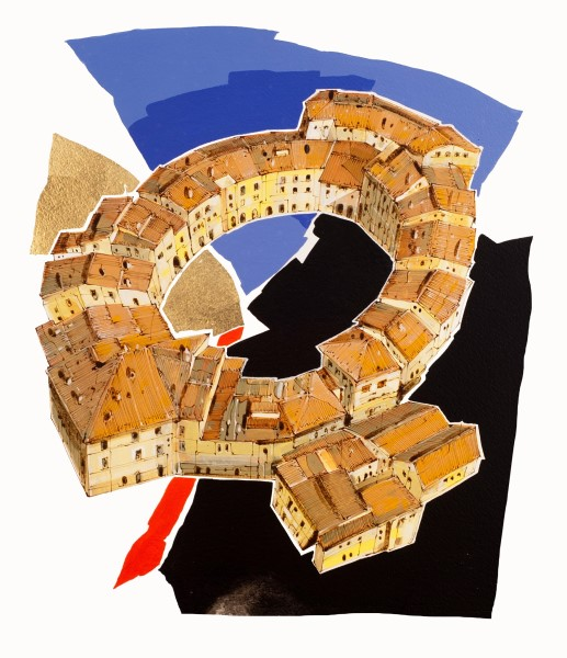 piazze d'italia e altri luoghi: la mostra di micallef