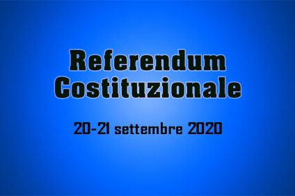 Referendum costituzionale 2020: nuove date