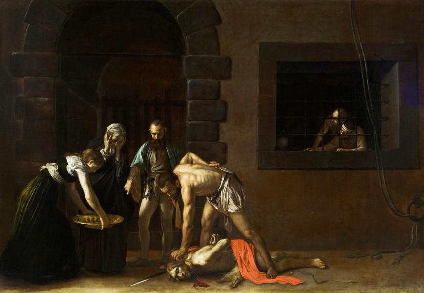 La decollazione di San Giovanni Battista Caravaggio