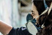 Alice Pasquini con mascherina