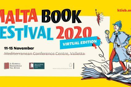 Malta Book Festival 2020 locandina