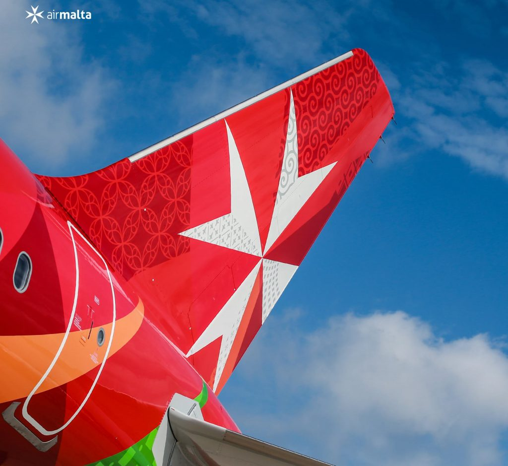Air Malta, coda dell'aereo